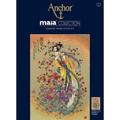 Maia Cross Stitch Kit - Goddess of Prosperity