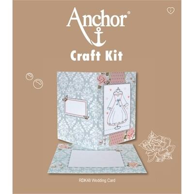 Anchor Craft Kit - Wedding Card