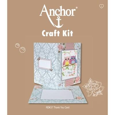 Anchor Craft Kit - Thank You Card