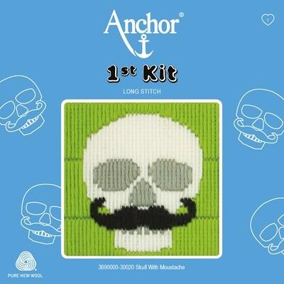 Anchor 1st Kit - Skull with Moustache
