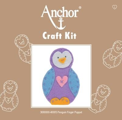 Anchor 1st Kit - Penguin Finger Puppet