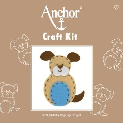 Anchor 1st Kit - Dog Finger Puppet