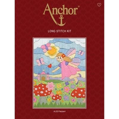 Anchor Starter Long Stitch Kit - Fairy Land