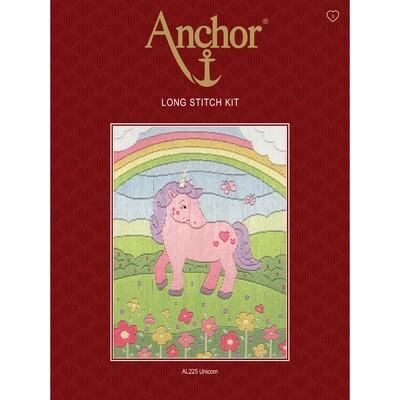 Anchor Starter Long Stitch Kit - Unicorn