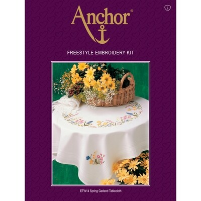 Anchor Essentials Freestyle Kit - Spring Garland Tablecloth