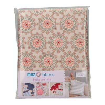 Pre-Cut Cotton - My Baby Love Selection - Dream - Grey (100 x 140 cm)