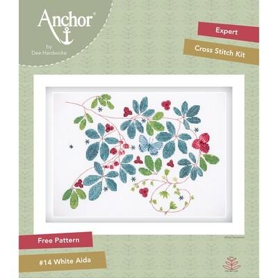 Anchor by Dee Hardwicke - Glasshouse Vine Cross Stitch Kit