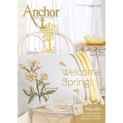 Revista Welcome Spring (Free Tote Back to Embroider)