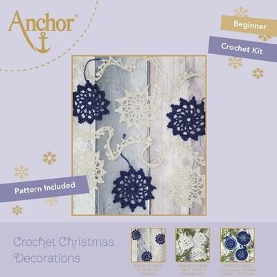 Crochet Christmas Decorations - Crochet Star Garland