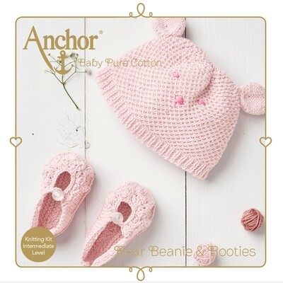 Anchor Baby Pure Cotton Hat & Shoes