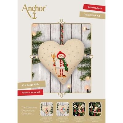 The Christmas Decorations Collection - Festive Door Hanger Snowman