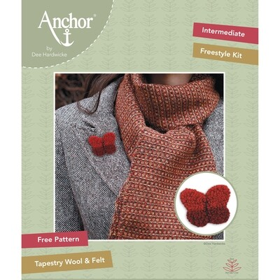 Anchor by Dee Hardwicke - Red Butterfly Freestyle Kit