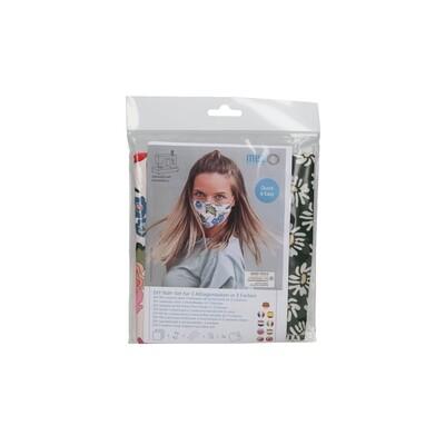 Kit de Costura DIY - 3 Máscaras Comunitárias (3 padrões da coleção Arne & Carlos)