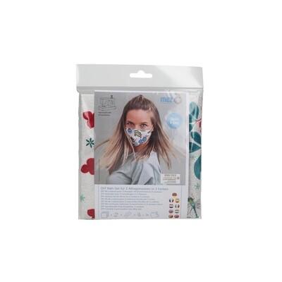 Kit de Costura DIY - 3 Máscaras Comunitárias (3 padrões da coleção Dee Hardwicke)