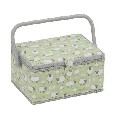 Sewing Box Medium - Sheep
