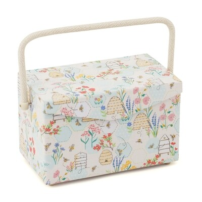 Sewing Box fold over lid Medium - Sewing Bee
