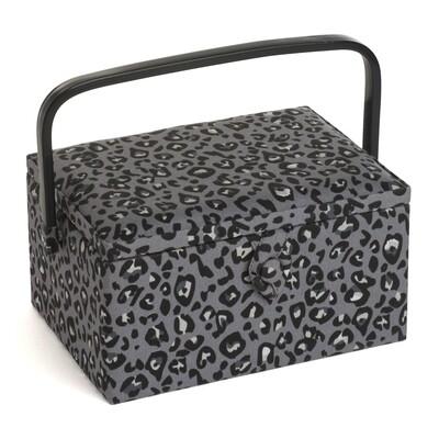Sewing Box Medium - Leopard