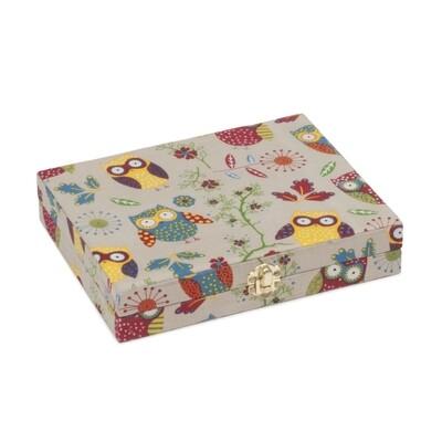 Spool Storage Box - Owl