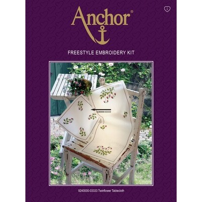 Anchor Essentials Freestyle Kit - Twinflower Tablecloth