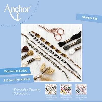 Kit Anchor Craft - Kit Pulseira da Amizade - Neutra