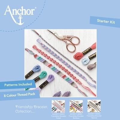 Kit Anchor Craft - Kit Pulseira da Amizade - Pastel
