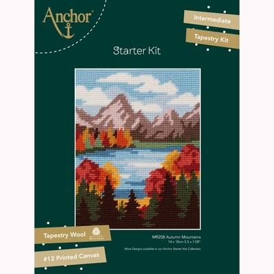 Kit de Iniciação de Tapeçaria Anchor - Montanhas de Outono