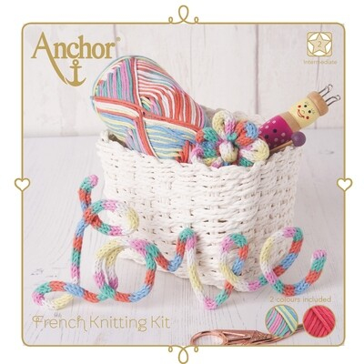 Kit Anchor Craft - Kit Cordão em Tricotim - Brilhante