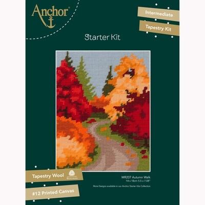 Kit de Iniciação de Tapeçaria Anchor - Passeio de Outono