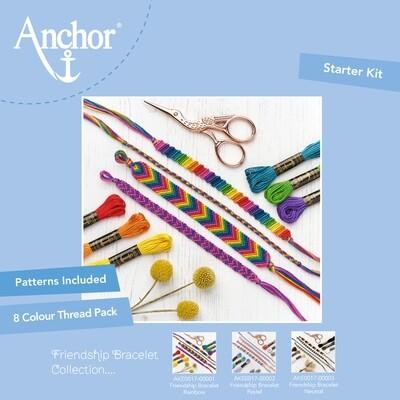 Kit Anchor Craft - Kit Pulseira da Amizade - Arco Iris