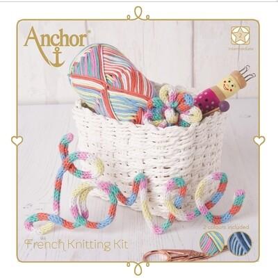 Kit Anchor Craft - Kit Cordão em Tricotim - Pastel