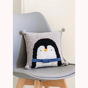 Modelo Almofada Pinguim