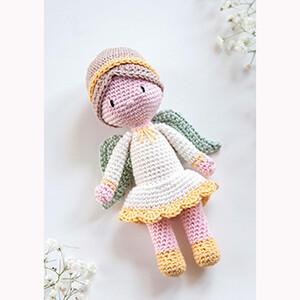 Modelo Boneca Anjo