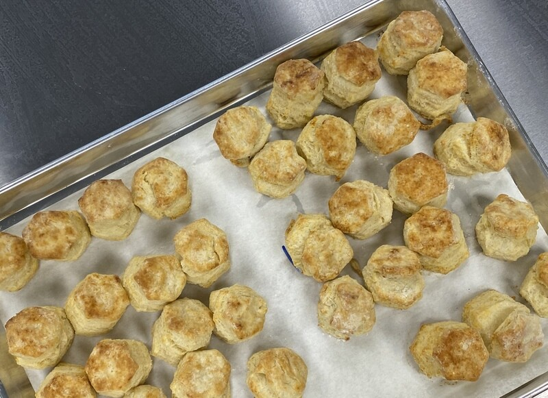 Two Dozen Mini Biscuits All Buttermilk