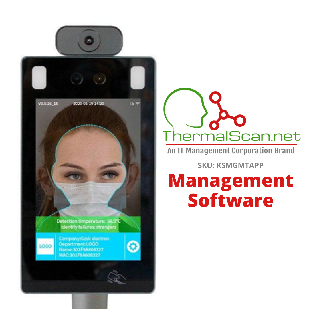 Management Software for Temperature Scanning Kiosk