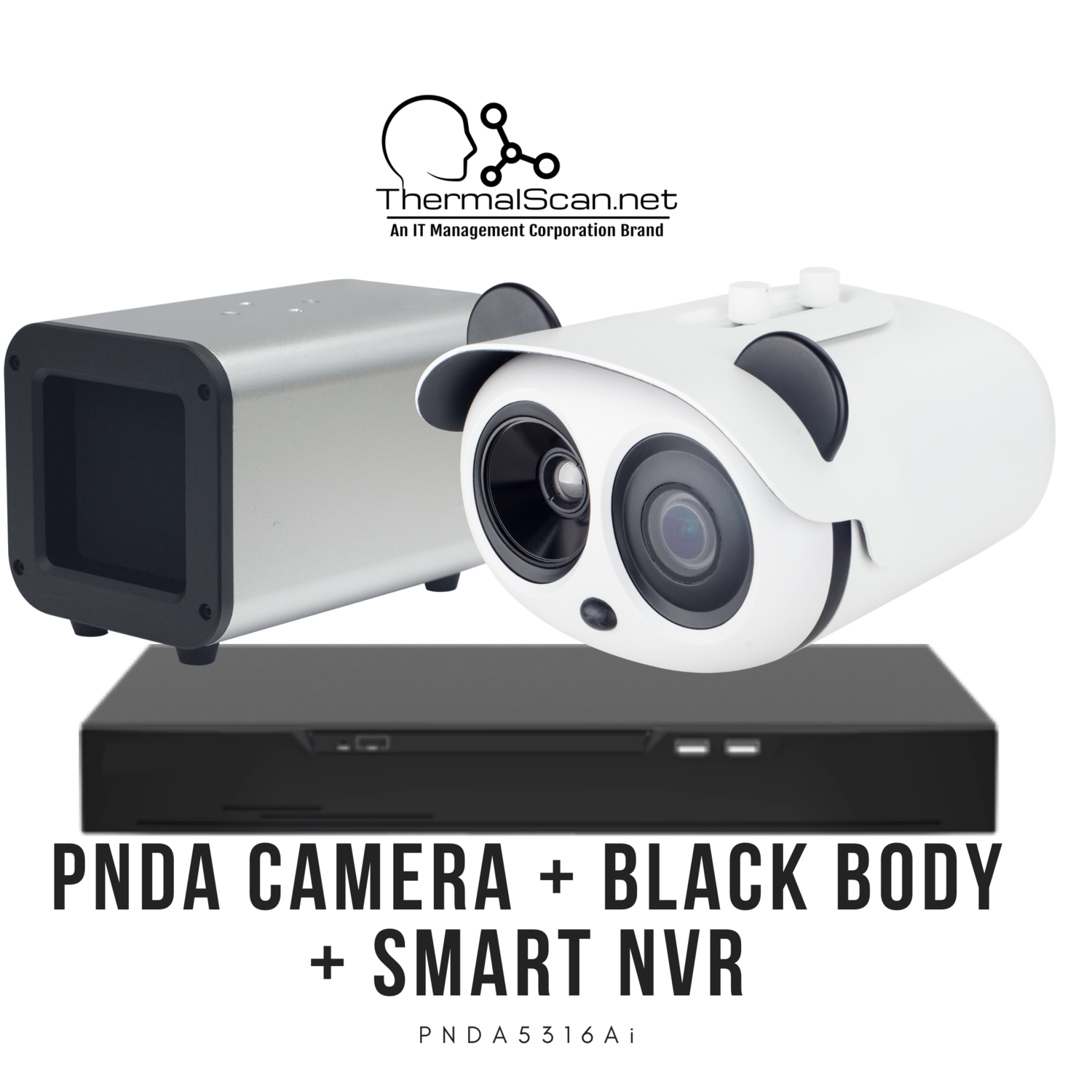 PNDA Thermal Camera + BlackBody + Smart NVR