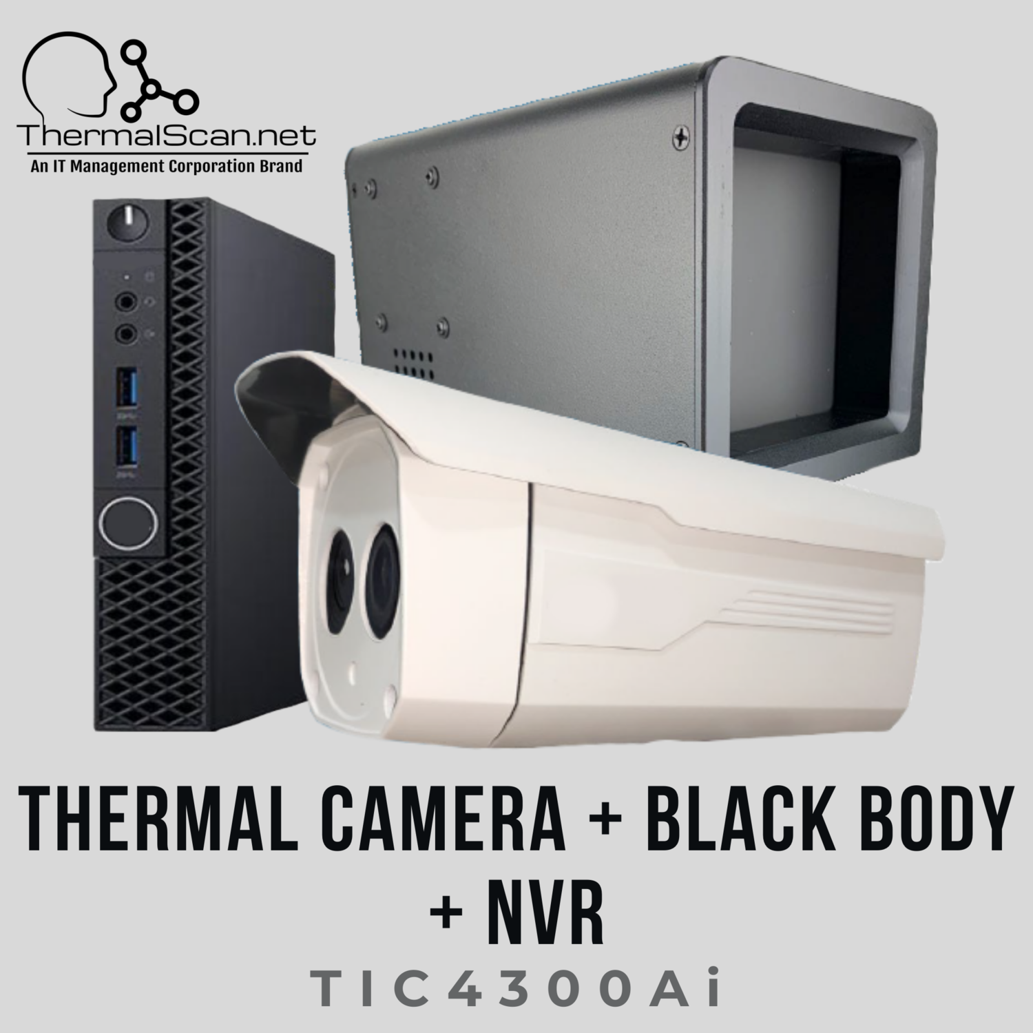 Thermal Imaging Camera + Black Body + NVR