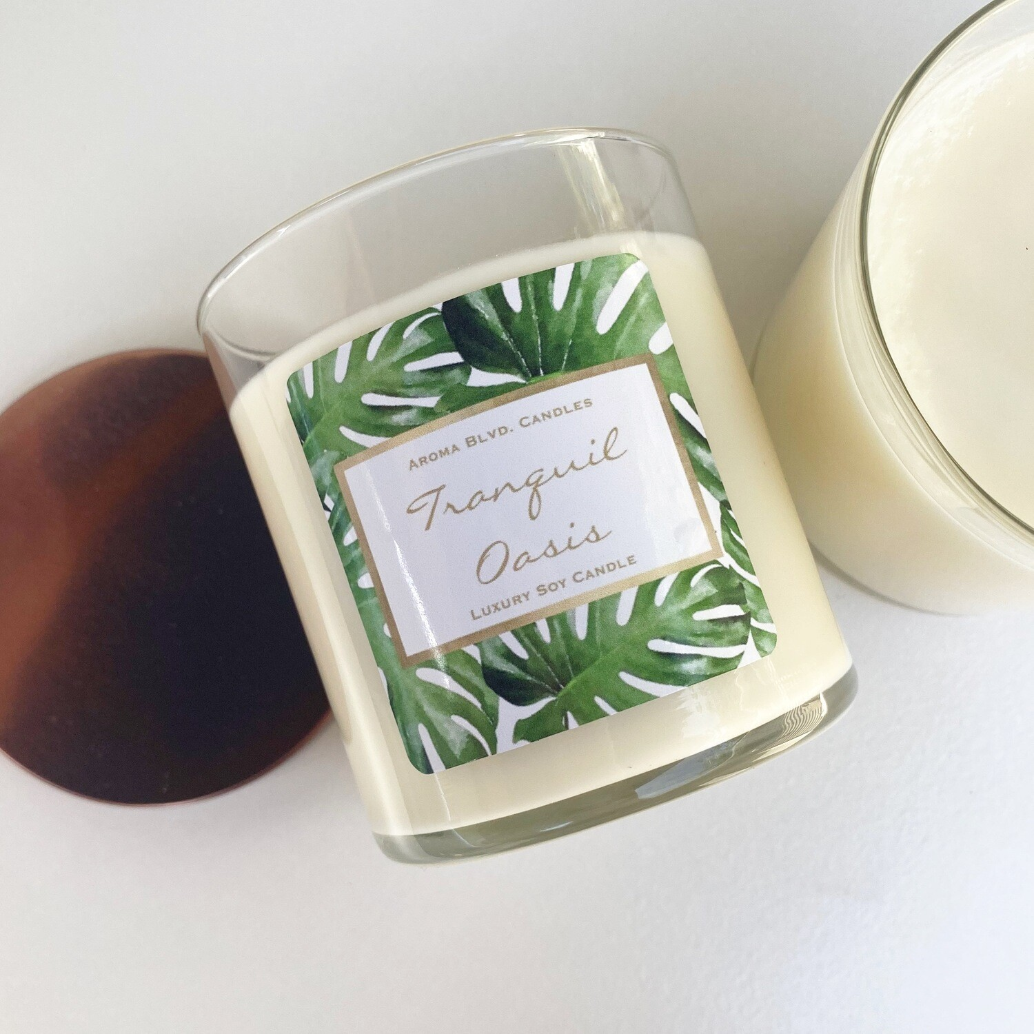 Tranquil Oasis Scented Soy Candle
