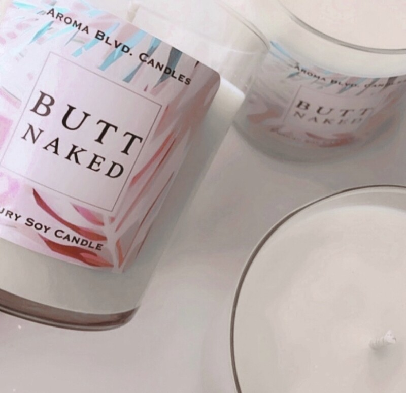 Butt Naked Scented Soy Candle