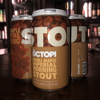 Octopi Brewing - Double Maple Imperial Morning Stout (4-pack)