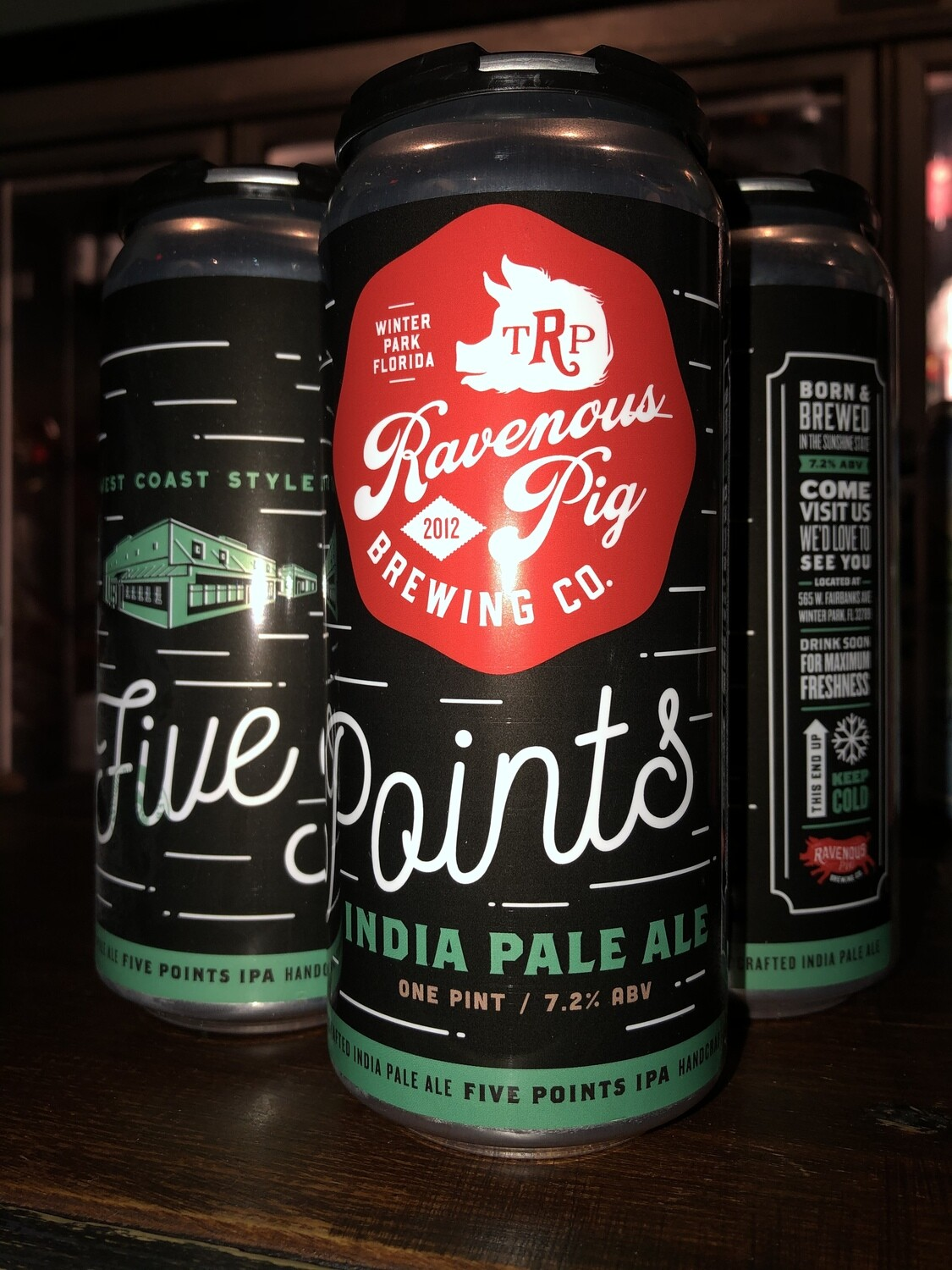 Ravenous Pig Brewing - 5 Points IPA (4-pack)
