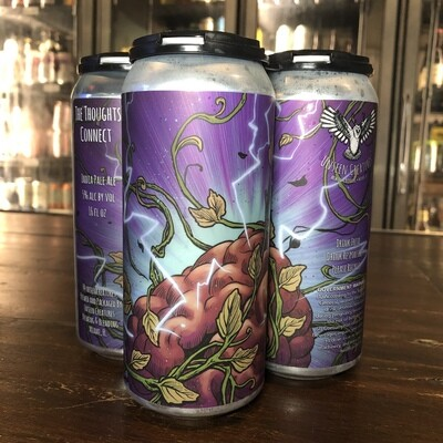 Unseen Creatures - The Thoughts Connect IPA (4-pack)