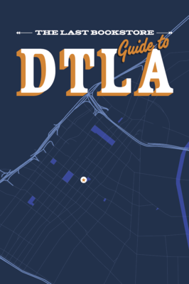 The Last Bookstore's Collector Map of DTLA