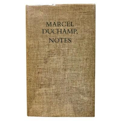 Marcel Duchamp, Notes Arranged by Paul Matisse