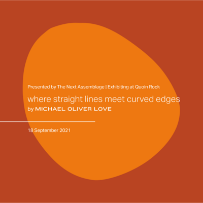 where straight lines meet curved edges