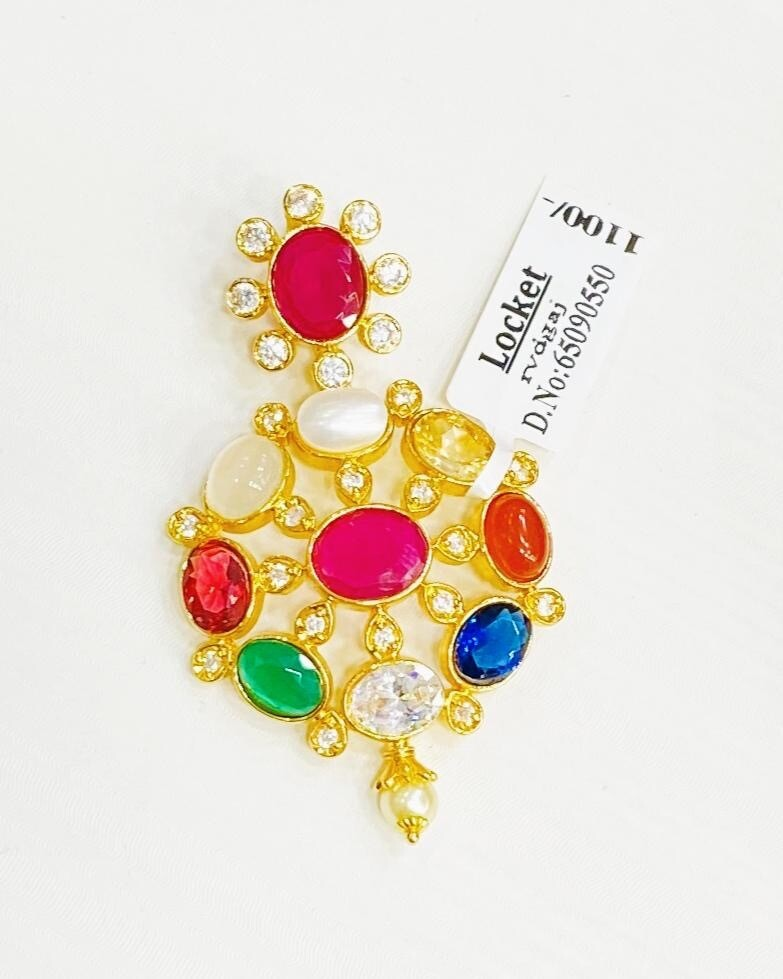 Navaratna Locket