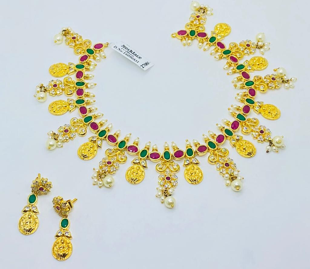 Lakshmi Kasulu Necklace