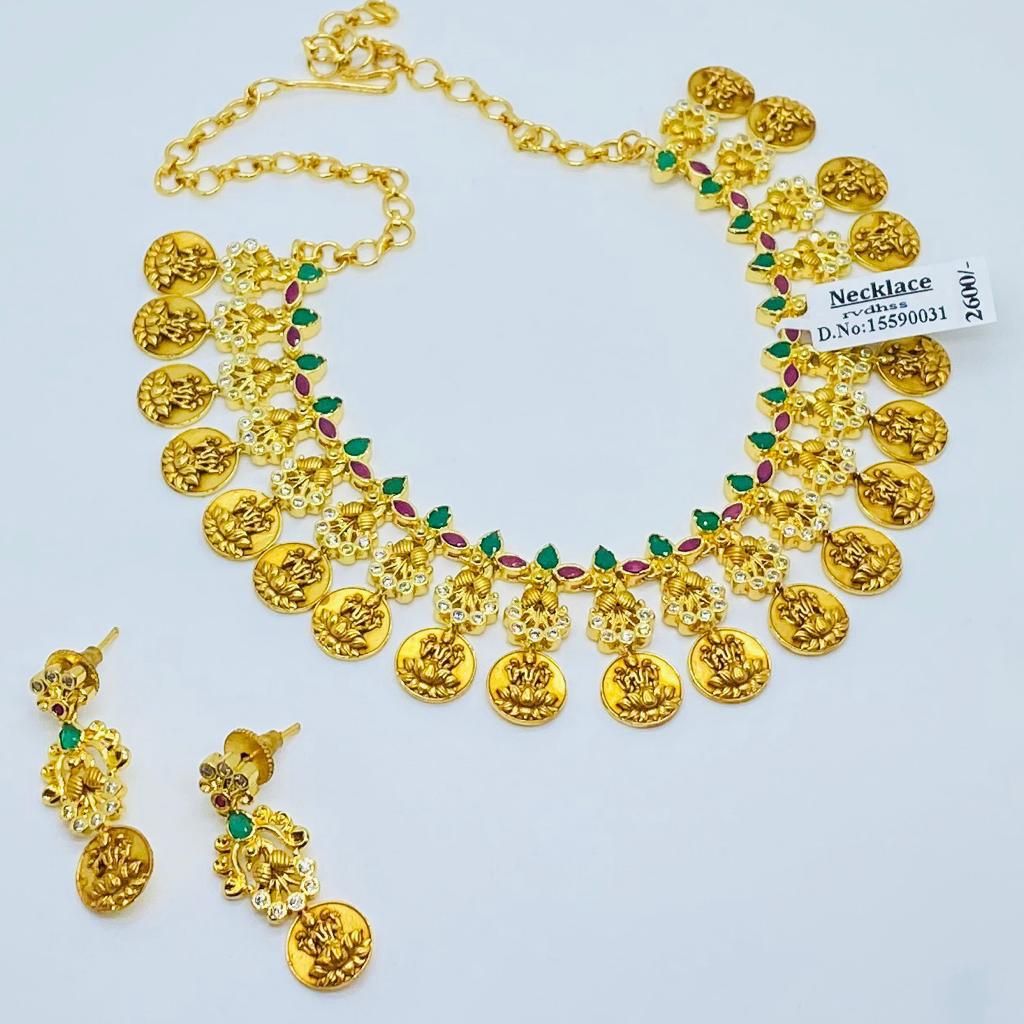 Lakshmi Kasulu Necklace