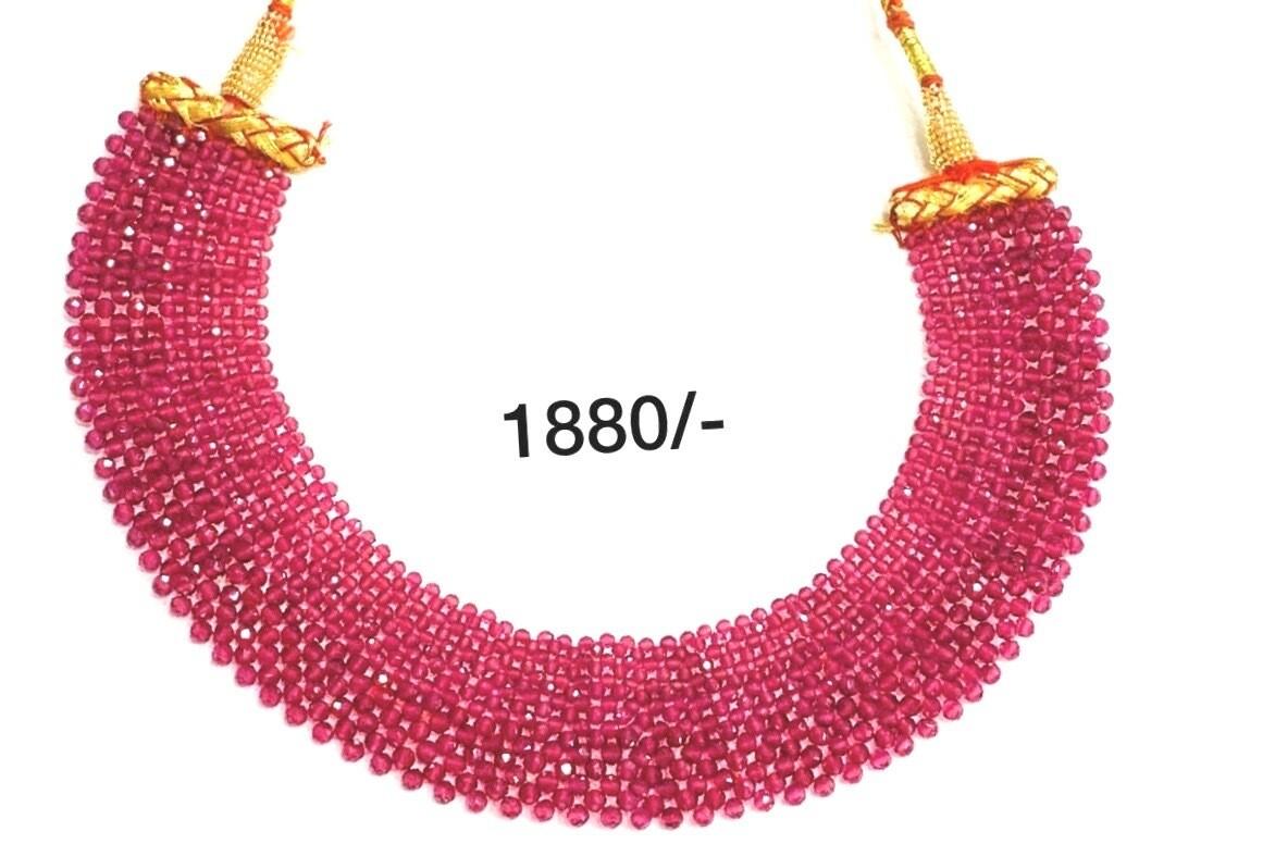 Beads Jaali Choker