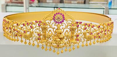 Cz Vaddanam Matt Finish Lakshmi Devi Design