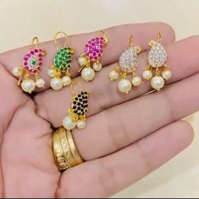 Cz Cute Mango Hook Tops